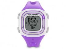 Garmin - Forerunner 10 Running watch (Violet/White)