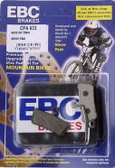 EBC - Disc brake pads for Avid X0, X9, X7 Trail, Guide [CFA633 Green]