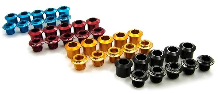 Mortop Aluminium chainring bolts [short]