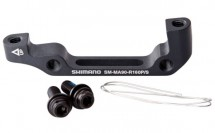 Shimano - Disc Brake Adapter IS/PM 160 mm SM-MA90-R160PSA XTR Rear