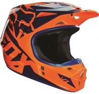 FOX - V1 Race Helmet Orange Blue [2016]
