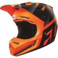 FOX - V3 Shiv Orange Helmet [2016]
