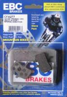 EBC - Disc brake pads for Hayes MX1, MAG, HFX9 and Promax [CFA277 Green]