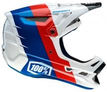 100% - Aircraft R8 White Helmet