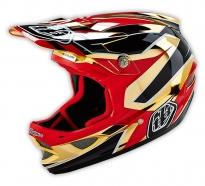 Troy Lee Designs - D3 Reflex Gold Chrome Helmet [2016]