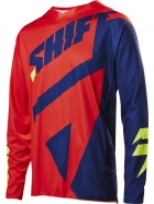 Shift - 3lack Mainline Navy Red Jersey