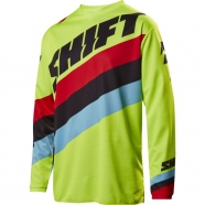 Shift - Whit3 Tarmac Yellow Jersey