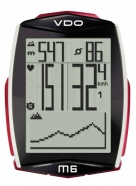 VDO - Cycle Computer M6 WL D3 Wireless with heart rate monitor