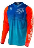 Troy Lee Designs - SE Starburst Cyan Blue Jersey