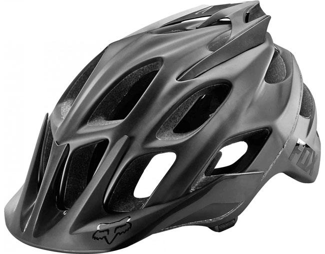 FOX FLUX Helmet Matte White