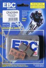 EBC - Disc brake pads for Shimano Deore XT, Grimeca S-8 [CFA310HH Gold]