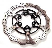 A2Z SPV DOT Disc brake rotor with alloy carrier