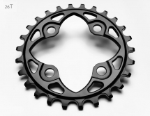 AbsoluteBlack - Round 104 / 64BCD Chainring