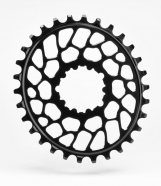 AbsoluteBlack - Sram Oval BB30 Traction Chainring