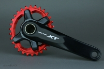 AbsoluteBlack XT M8000 Oval Chainring
