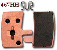 EBC Disc brake pads for Hayes Stroker Trail [CFA467HH Gold]