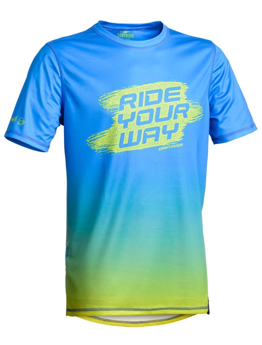 Dartmoor Ride Your Way Tech T-shirt