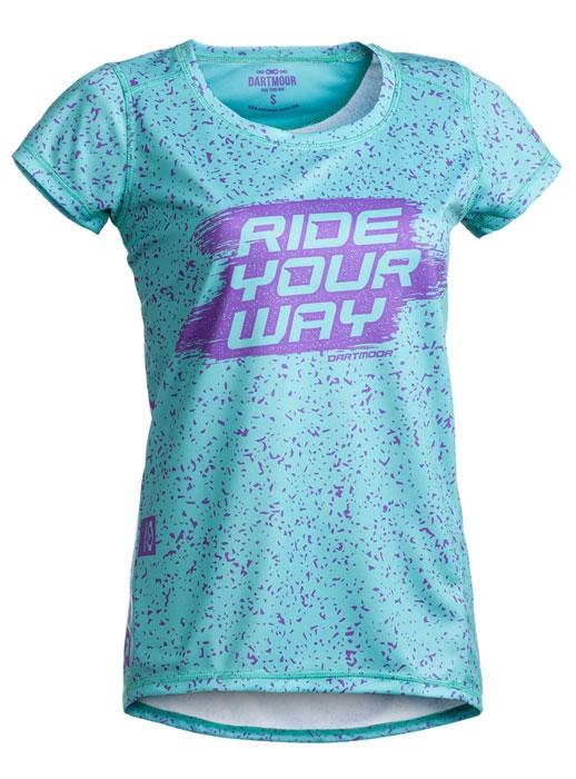 Dartmoor Treetop Tech Lady T-shirt