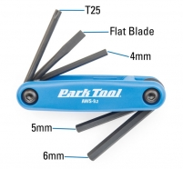Park Tool Fold-Up Hex Wrench Set AWS-9.2