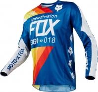 FOX - 360 Draftr Blue Jersey