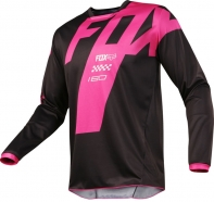 FOX - 180 Mastar Black Jersey