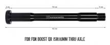 BB Components Fox BOOST QR 15x110mm Thru Axle
