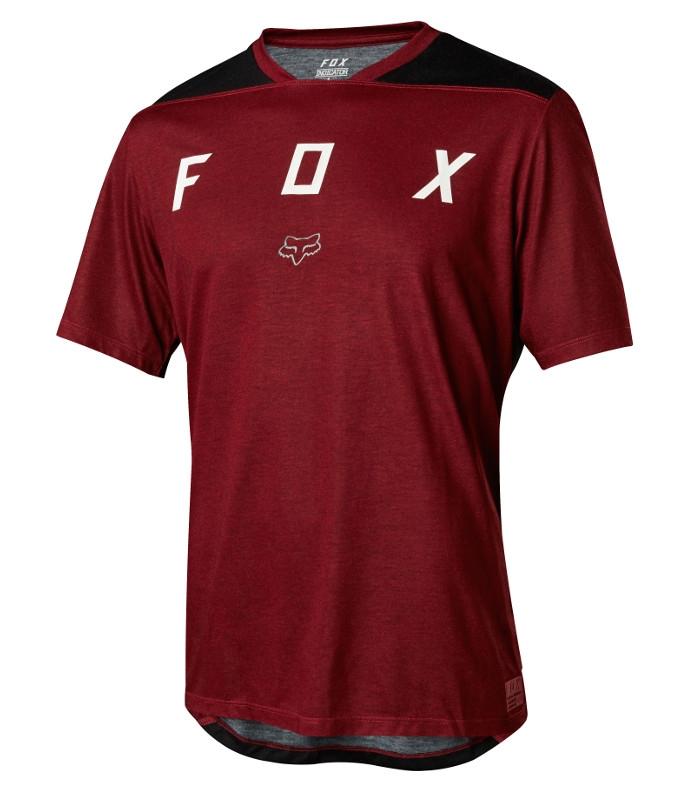 FOX Indicator Mash Camo Dark Red Jersey