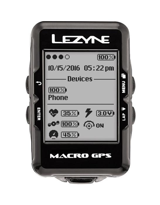 Lezyne Macro GPS Cycling Computer