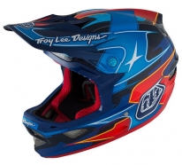 Troy Lee Designs - D3 Render Navy CF MIPS Helmet