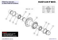 Novatec NT-DH61SB Front hub