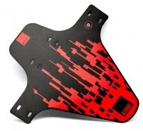 Race Fender PIXEL Zip Ties front fender