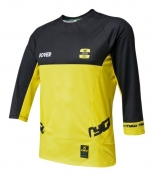 TYGU - ROVER Yellow-Black 3/4 sleeve Jersey