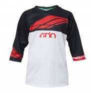 TYGU - KIDO Black-Red Jersey